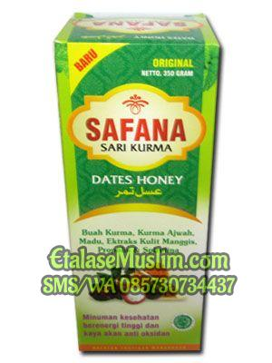 Sari Kurma Safana Dates Honey Original 350 Gram