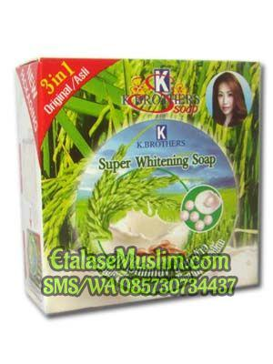 Sabun Beras Susu Mutiara 3in1 Super Whitening Soap K. Brothers