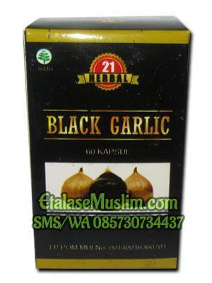Black Garlic 60 Kapsul HERBAL 21