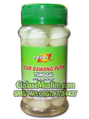 Prima Acar Bawang Putih Tunggal Garlic Pickled 60 g
