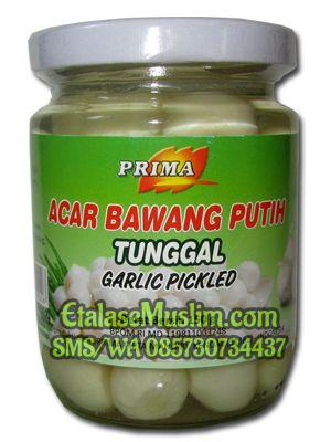 Prima Acar Bawang Putih Tunggal Garlic Pickled 150 g