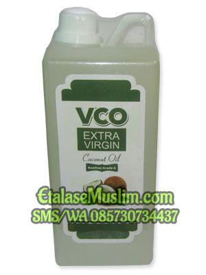 VCO Extra Virgin Coconut Oil 1.000 ml Ath Thoifah (Kemasan 1 liter)