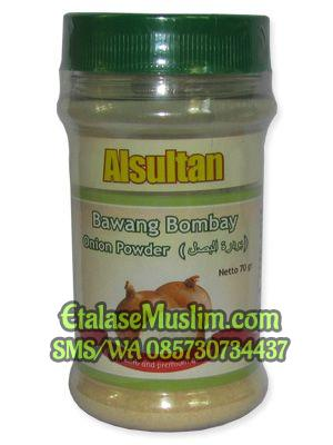 Bubuk Bawang Bombay (Onion Powder) 70 gr Alsultan