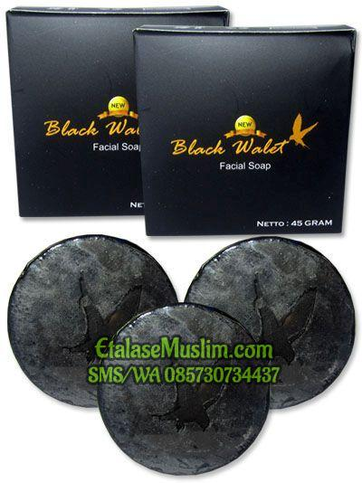 NEW Sabun Black Walet Facial Soap (AN NAUFA) BPOM