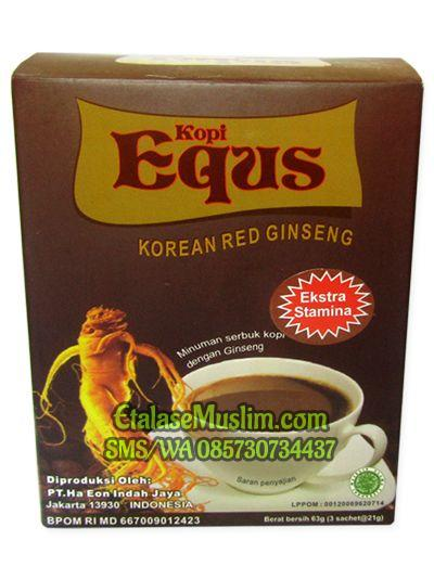 Kopi Kejantanan EQUS Korean Red Ginseng