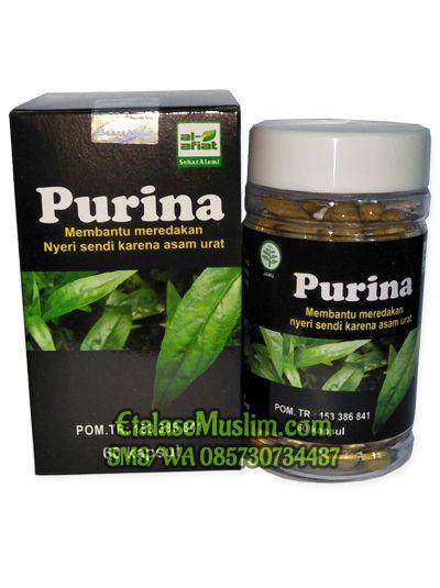 Purina 60 Kapsul Al - Afiat (Obat Herbal Asam Urat & Nyeri Sendi)