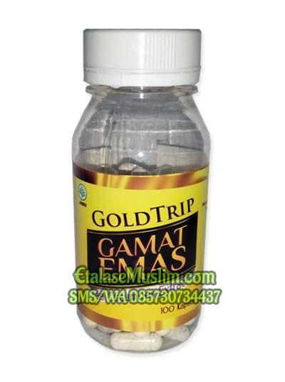 GoldTrip GAMAT EMAS Sea Cucumber Extract 100 Kapsul