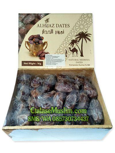 Kurma ALHIJAZ DATES Palestin (Natural Medjoul Dates)