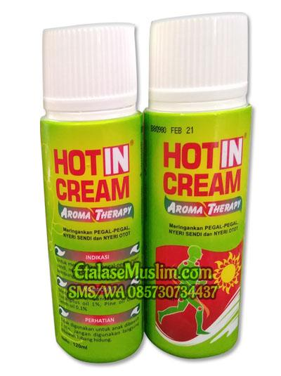 Hot in cream Aroma Therapy