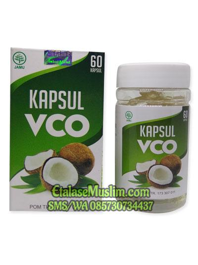 [isi 100] Kapsul VCO (Virgin Coconut Oil) Al Afiat