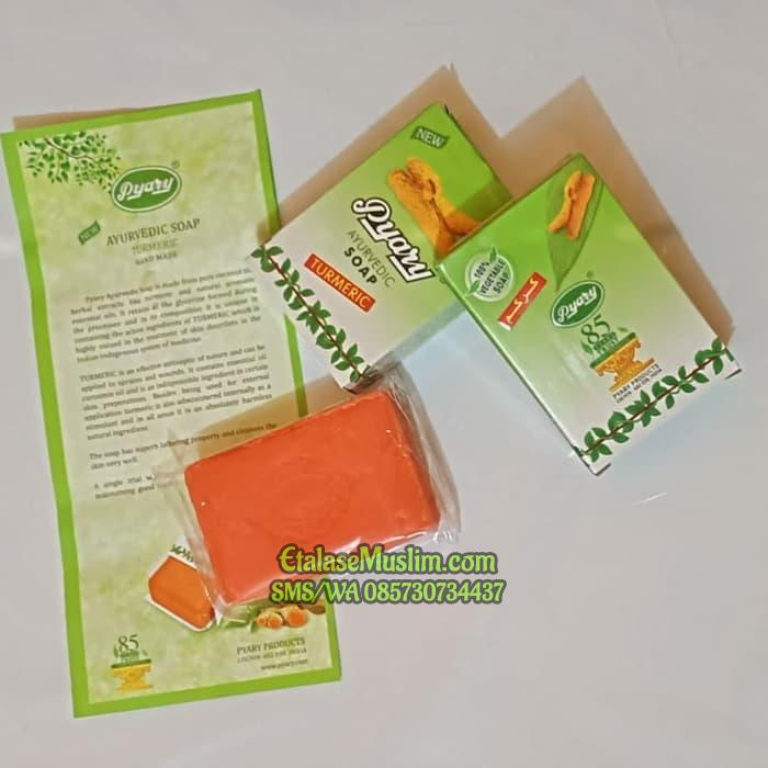 SABUN ARAB PYARY TURMERIC SOAP ORIGINAL SAUDI ARABIA AZAL WORLD