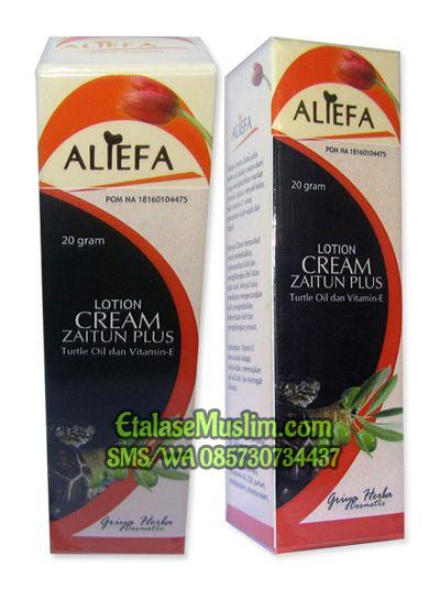 Aliefa Cream Zaitun Plus Minyak Bulus dan Vitamin E