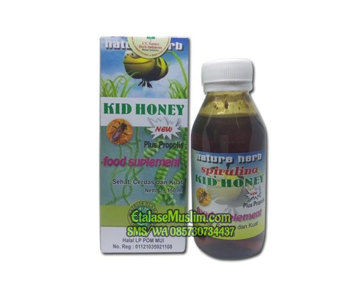 Spirulina kid`s Honey plus Propolis