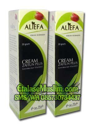 Aliefa Cream Zaitun plus Green Tea dan Vit-E