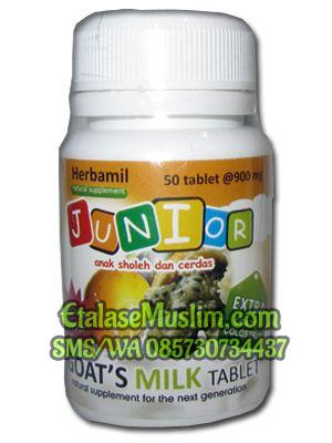 Herbamil Junior Goats Milk Tablet rasa Markisa