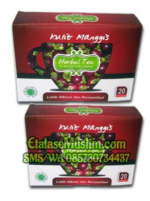 Herbal Tea Kulit Manggis Herbal Indo Utama