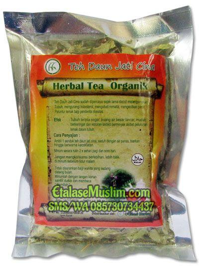 Tea Daun Jati Cina Curah 40 gram Hikmah Herbal