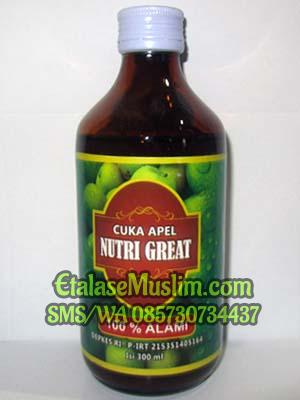 Cuka Apel Nutri Great 300 ml