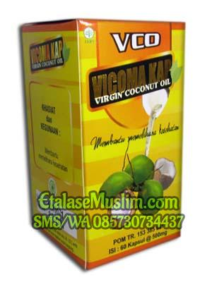 Vicoma Kap Virgin Coconut Oil (VCO) 60 Kapsul