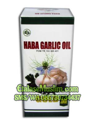Haba Garlic Oil Gold 100 Kapsul