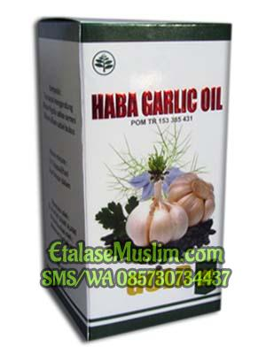 Haba Garlic Oil Gold 200 Kapsul