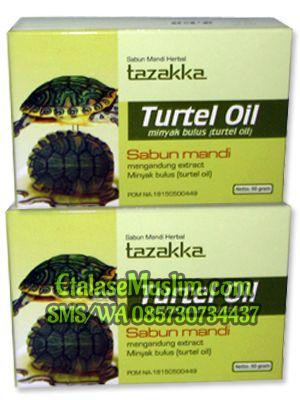 Sabun Mandi Herbal Turtel Oil (Minyak Bulus)